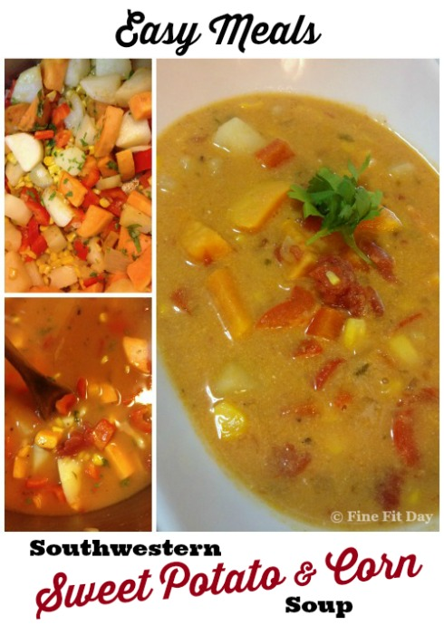 Easy Meals: Southwestern Sweet Potato and Corn Soup