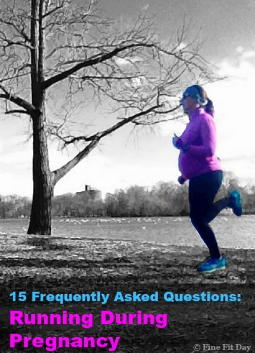 15 Frequently Asked Questions: Running During Pregnancy. Everything you've always wanted to ask about running while pregnant. Answers to the most frequently asked questions about running during pregnancy.