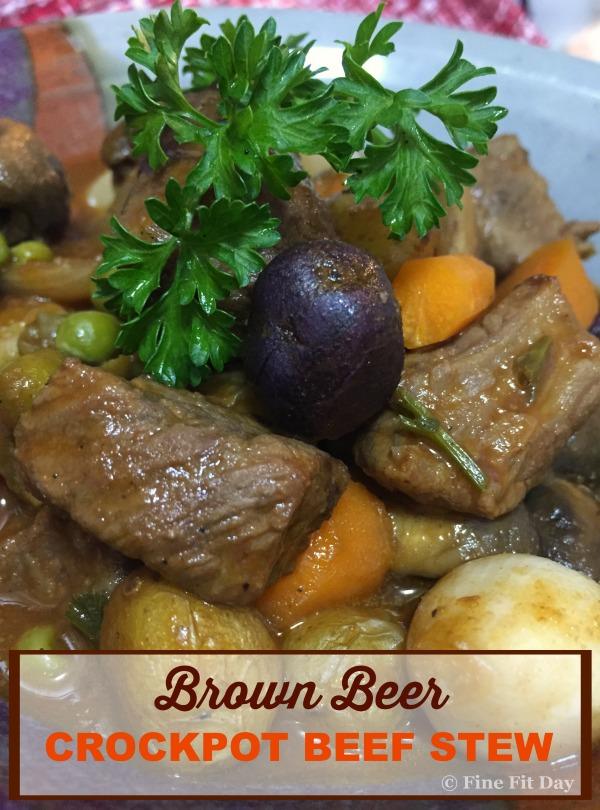 Brown Beer Crockpot Beef Stew