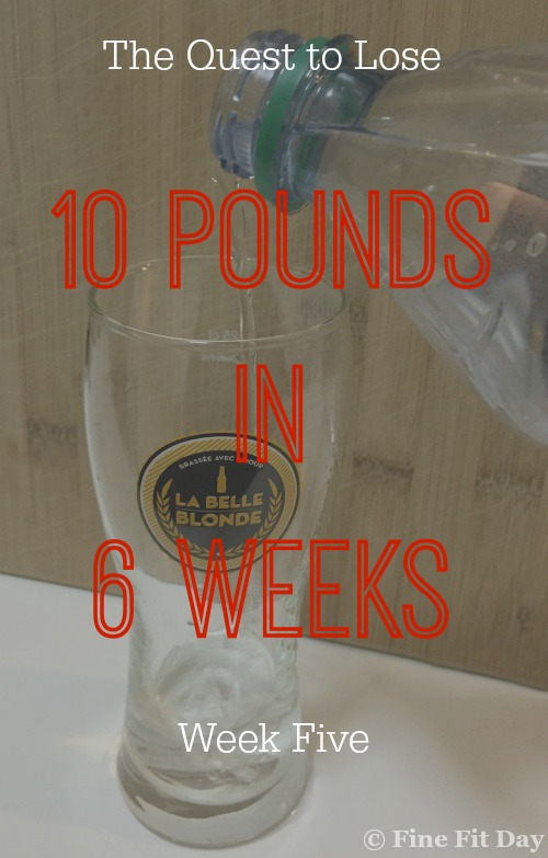 The Quest to Lose 10 Pounds in 6 Weeks - Week Five. In which Fran struggles with buying snacks as a reward for losing weight, how much fun overeating looks like and whether a stomach flu is the answer.