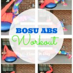 #BOSUstrong Abs Workout