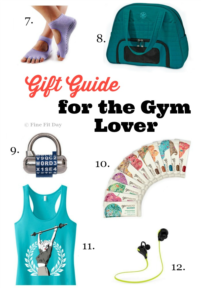 Gift Guide for the Gym Lover. Looking for a gift for a gym junkie, a lady who lifts, or a fit friend? Find a gift idea on this list of the best workout clothes, accessories, workout tools and gadgets for anyone who loves working out! | fitness | exercise | strength training |