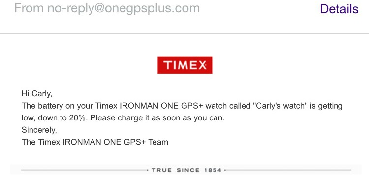 Timex Ironman ONE GPS+ Review. Check out this running blogger's review of the ONE GPS+ watch from Timex - the one you can send emails from without a phone! #AD