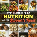 What I Learned About Nutrition on the Runner's Reset