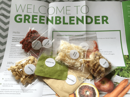 Green Blender review - a subscription box of all the ingredients and recipes for a week's worth of healthy, organic smoothies.