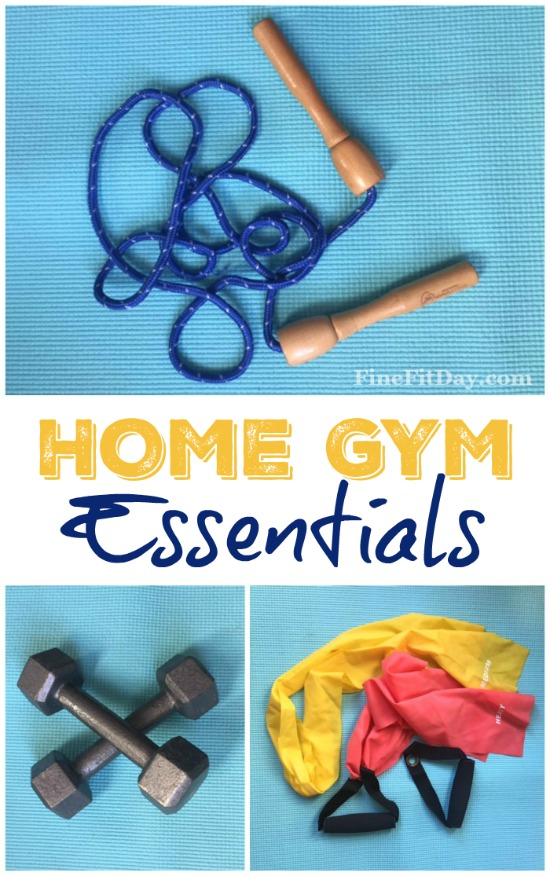 What's on a personal trainer's list of home gym essentials? You may be surprised by how little equipment you need to make up your own home gym. making it easy for you to start working out at home.