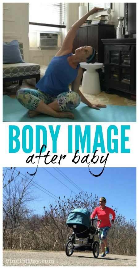 Body image after baby. An honest look at how we examine our bodies after giving birth and what we can do to stop being so hard on ourselves. Every postpartum mom should read this!