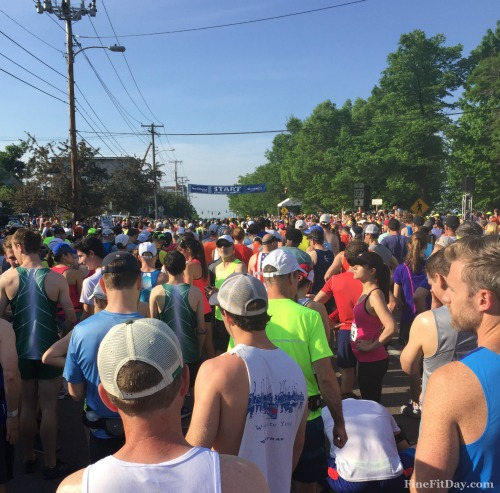 Vermont City Marathon Recap - The Black Flag Affair