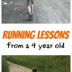Running Lessons from a 4 Year Old
