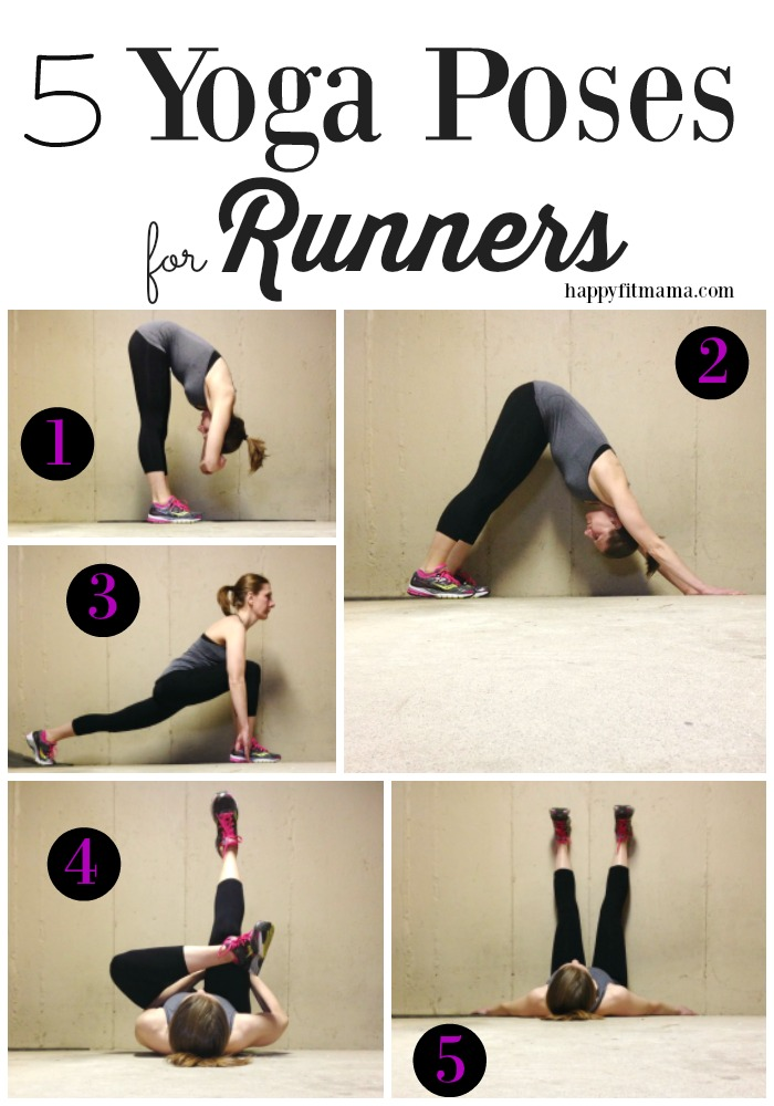 Yoga stretch routine for runners - the best way to cool down after your next run. Click through for 6 yoga workouts for runners!