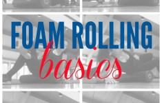 Foam Rolling Basics
