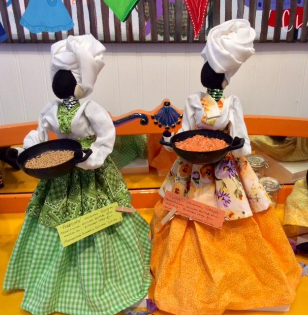 New exclusive Kitchen Gullah Art Dolls by Genya - FreeOona & Flora