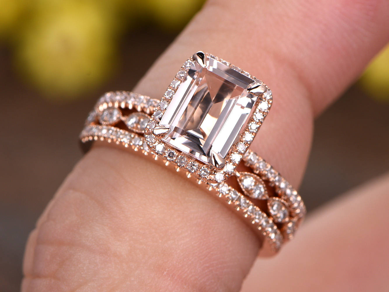Ralph Jacobs | Everything Emerald Cut Engagement Rings | Jewellery