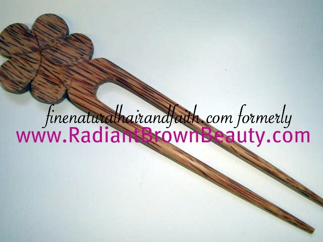 hawaiian plumeria hair stick