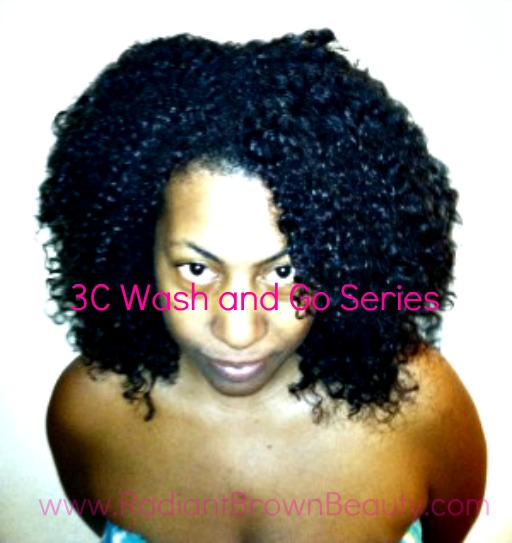 3c curly hair wash product