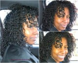 curly head hair care regiment