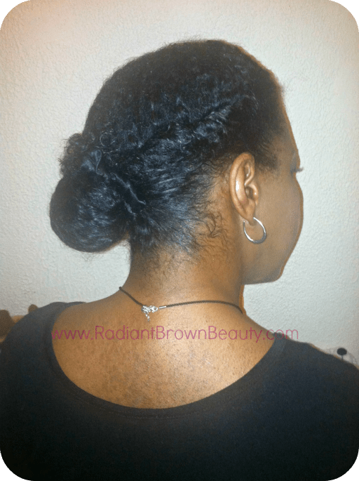 protective styling hair to protect skin