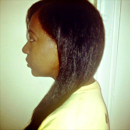 natural hair length retention