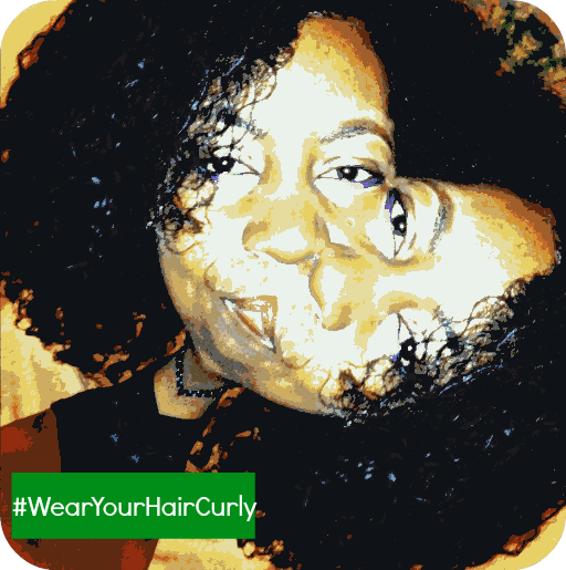 #wearyourhaircurly