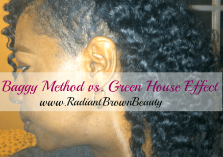 baggy method vs green house effect