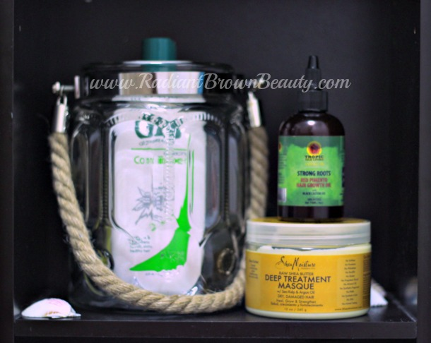 routine hair care products