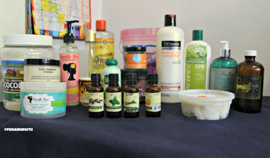 My Staple Hair Products \ fine natural hair