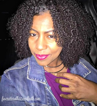 laying edges on fine natural hair