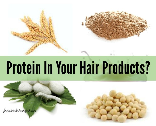protein in hair products