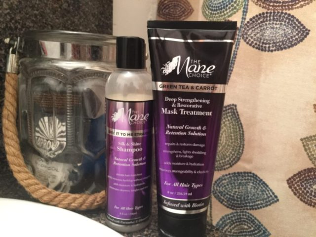 Mane Choice wash day products