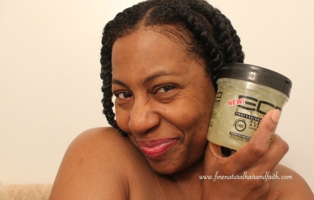 eco styler black castor oil and flaxseed gel review