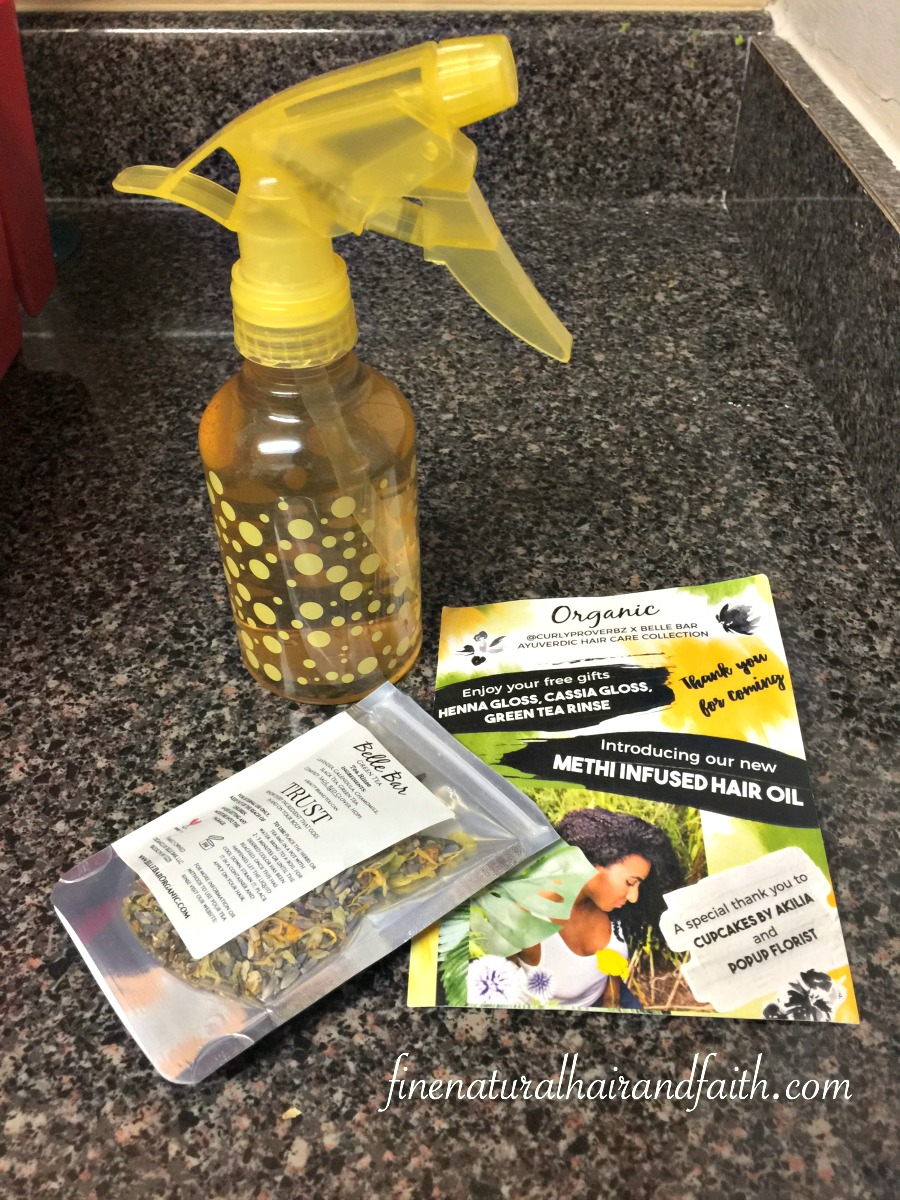 growth tea rinse