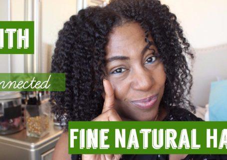 fine natural hair and faith collaboration videos