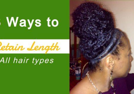 ways to retain length