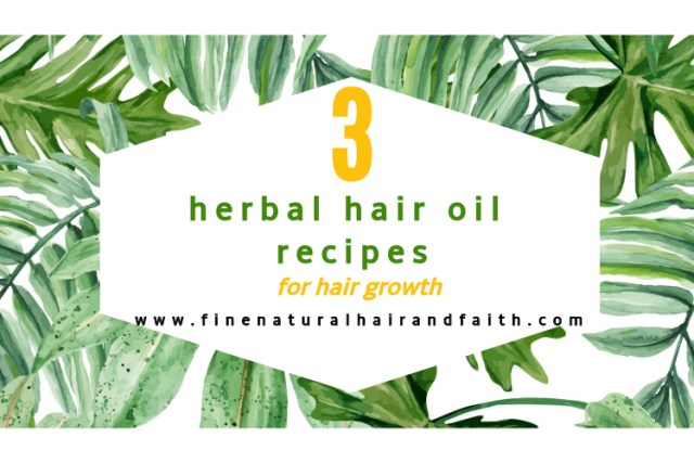 diy herbal hair growth oil