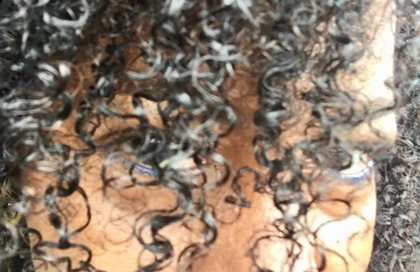 fine natural hair curls