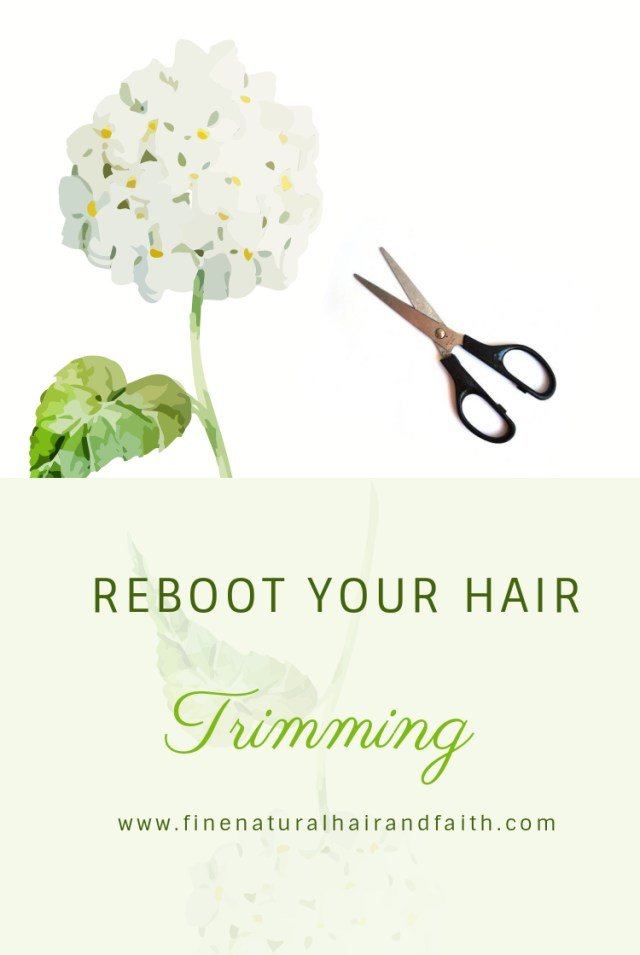 reboot your hair with trimming