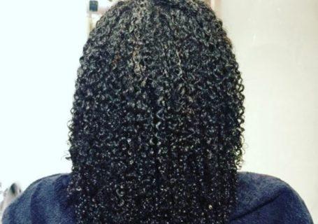 devacut wet fine natural hair