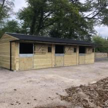 Mobile Stable Block