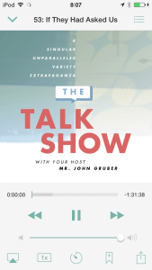 The Talk Show in Instacast