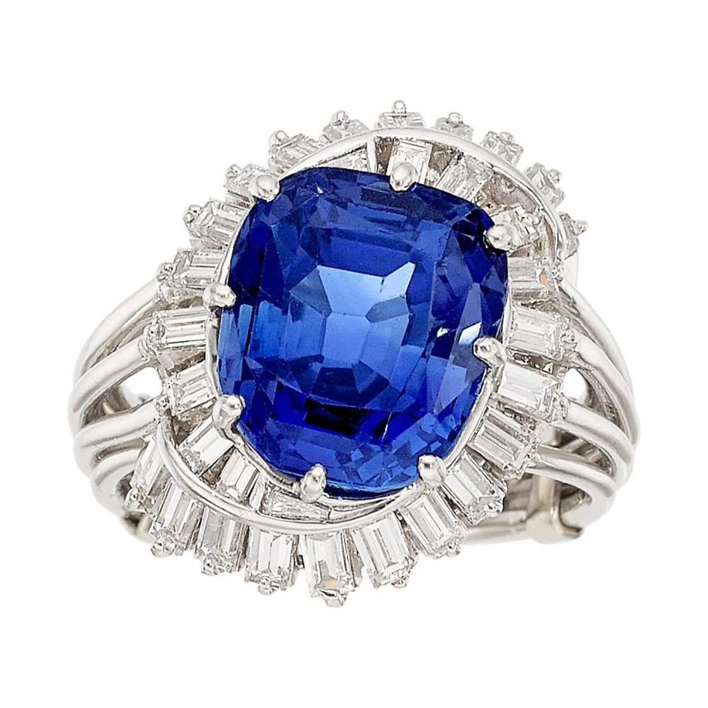 Kashmir Blue Sapphire Sold by Fine Estate for $550,000