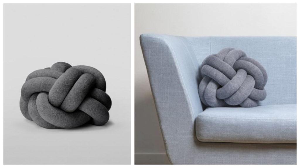 30 presenttips till familjen 2019: The Knot kudde från Design House Stockholm