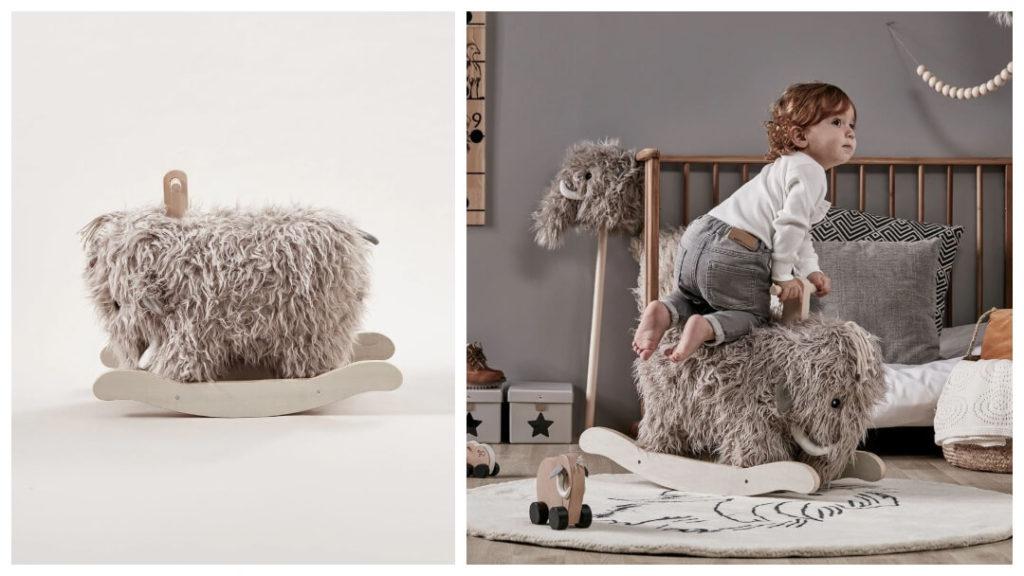 30 presenttips till familjen 2019: Neo Mammut gunghäst från Kids Concept