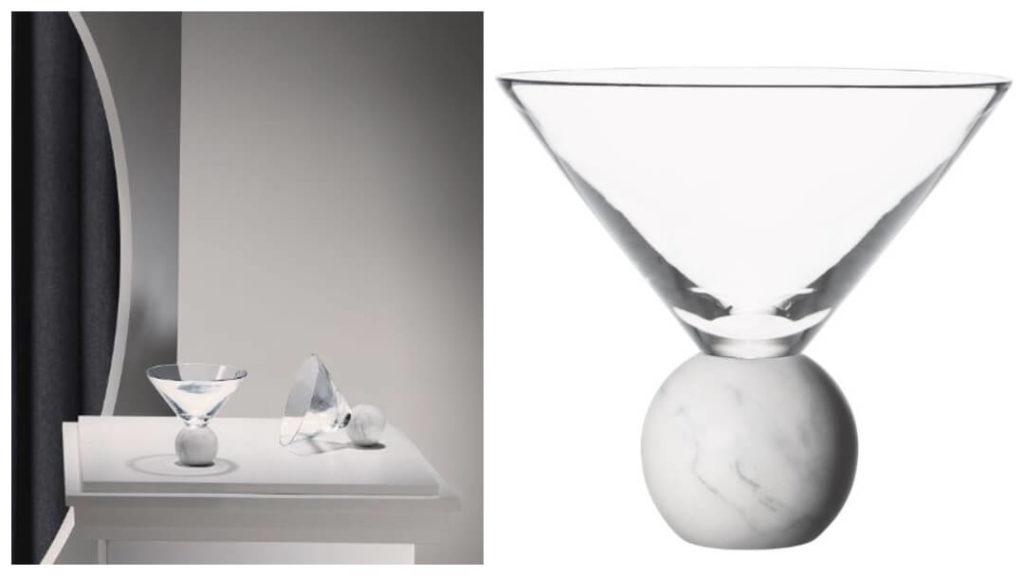 skandinaviska 40 års presenter: glas on the rock från lee broom