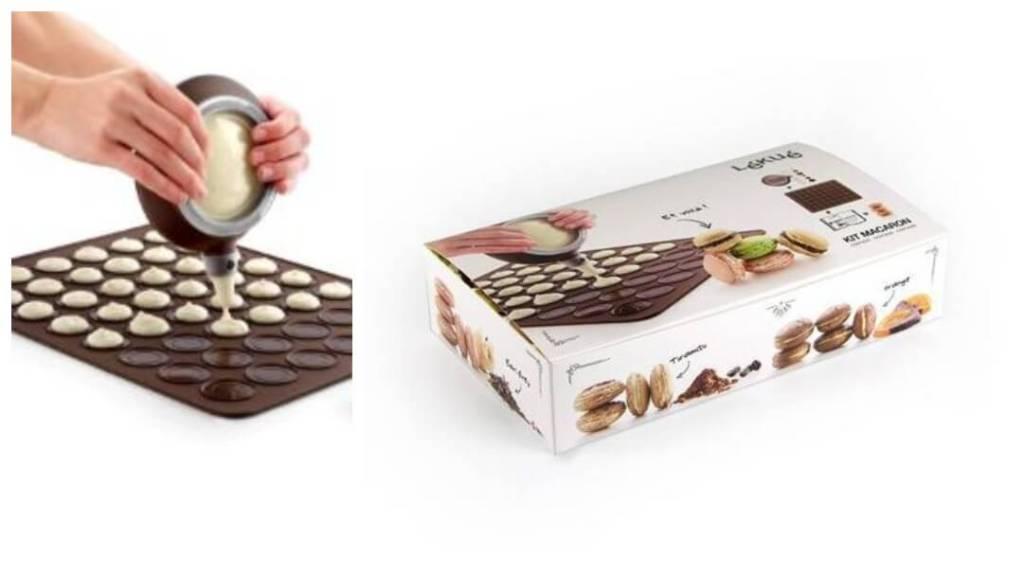 julklappstips till mamma: Macaron Set från Lékué