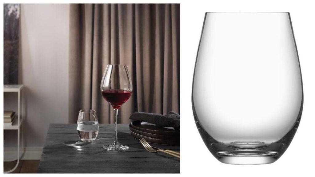 tips på förlovningspresent: Orrefors Zephyr vattenglas
