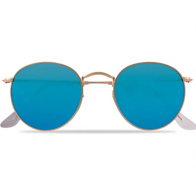 Tips på present till 45-åring: Ray ban Polarize runda solglasögon