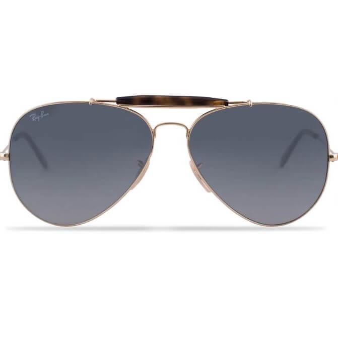 Present till man: Klassiska pilotglasögon från Rayban 'Outdoorsman'