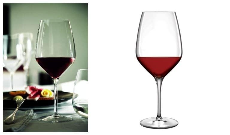 1. Till det romantiska paret Lb Atelier vinglas  från Luigi Bormioli