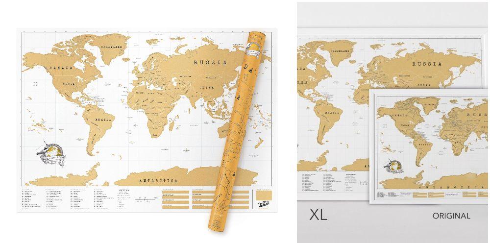 Scratchmap, ett populärt presenttips överlag