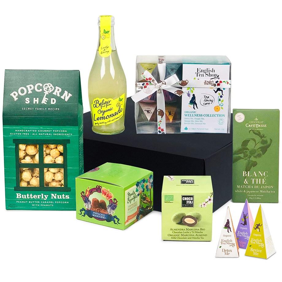 Presentkorg med te och godsaker som garanterat imponerar
